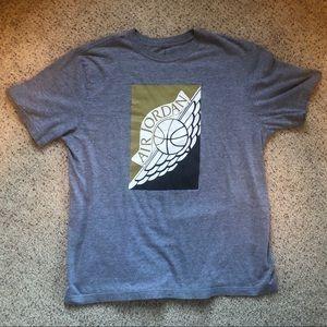 Air Jordan graphic t-shirt. XL